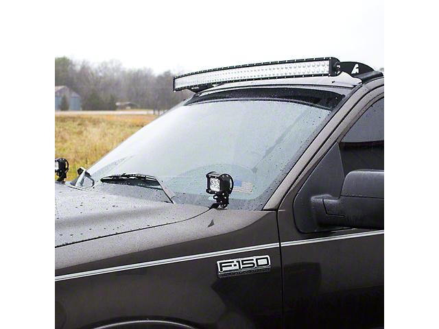 Hood Ditch Light Mounting Brackets (04-14 F-150)