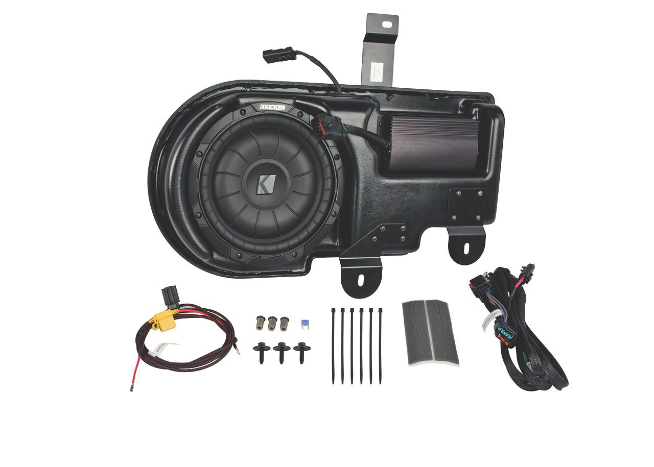 Kicker VSS PowerStage Subwoofer Upgrade System (09-14 F-150 SuperCrew)