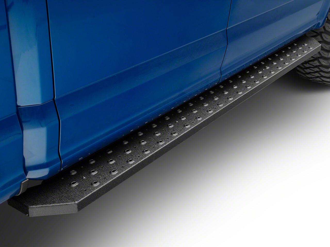 Aries Automotive 6.5 in. Ridgestep Running Boards - Textured Black (15-19 F-150 SuperCrew)