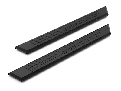 Aries Automotive 5.5 in. AdvantEDGE Side Step Bars - Carbide Black (15-18 F-150 SuperCab)