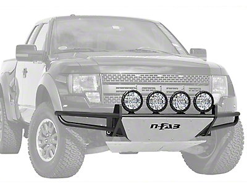 N-Fab RSP Front Bumper w/ Multi-Mounted for LED Lights - Textured Black (15-17 F-150, Excluding Raptor)