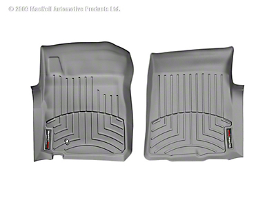 Weathertech DigitalFit Front & Rear Floor Liners - Gray (00-03 F-150 SuperCab)