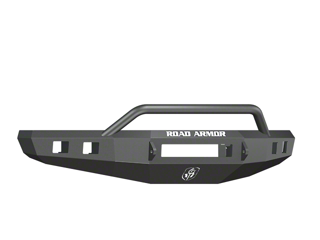 Road Armor Stealth Non-Winch Front Bumper w/ Pre-Runner Guard - Satin Black (15-17 F-150, Excluding Raptor)