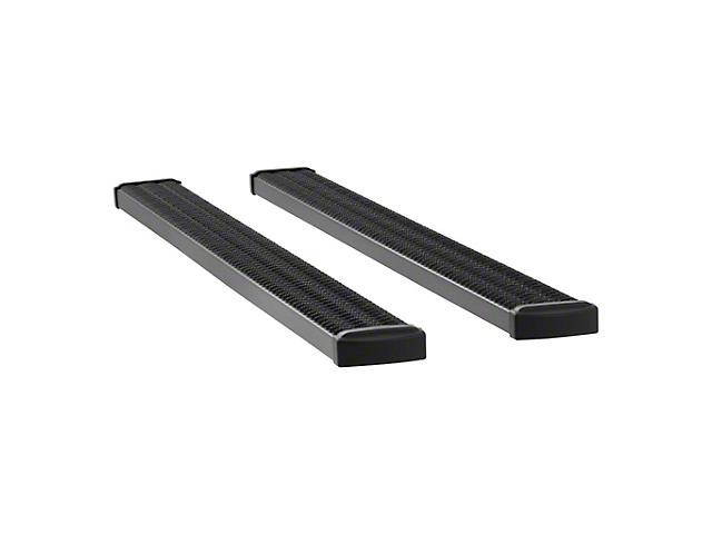 Grip Step 7-Inch Wheel-to-Wheel Running Boards; Textured Black (09-14 F-150 SuperCab)