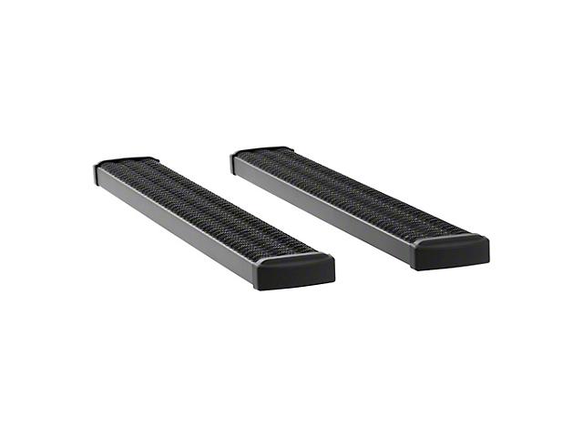 Grip Step 7-Inch Running Boards; Textured Black (15-21 F-150 Regular Cab)