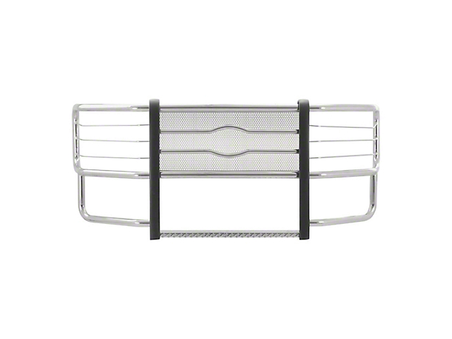 Prowler Max Grille Guard; Polished Stainless (15-20 F-150, Excluding Raptor)