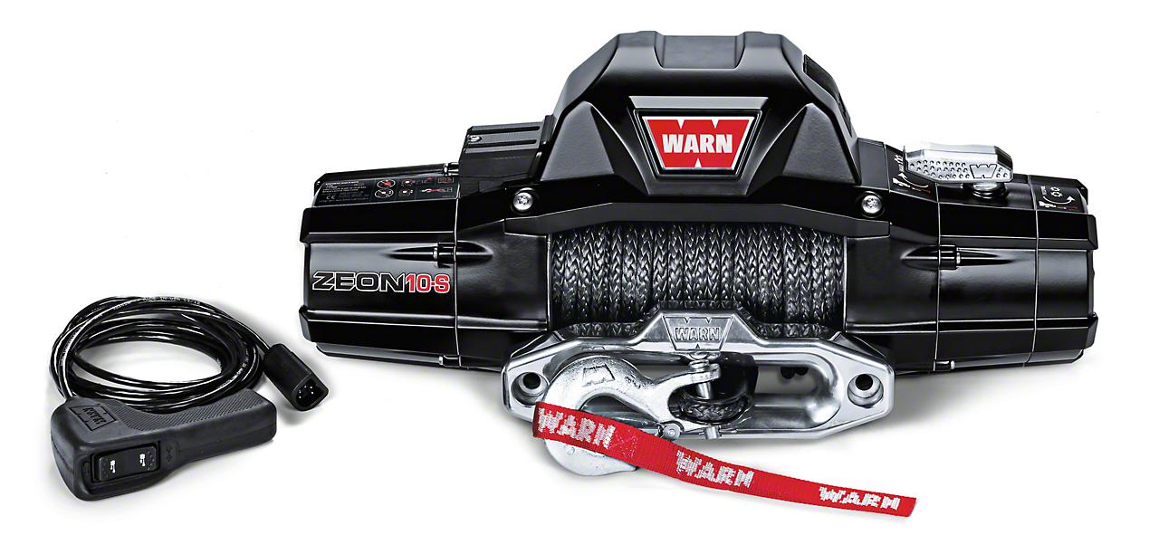 WARN ZEON 10-S 10,000 lb. Winch w/ Synthetic Rope
