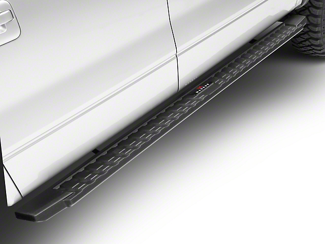 T-Style Running Boards - Black (09-14 F-150 SuperCrew)