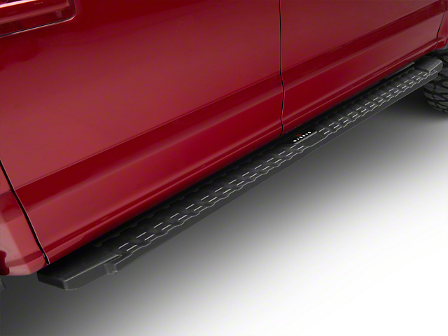 T-Style Running Boards - Black (15-19 F-150 SuperCrew)