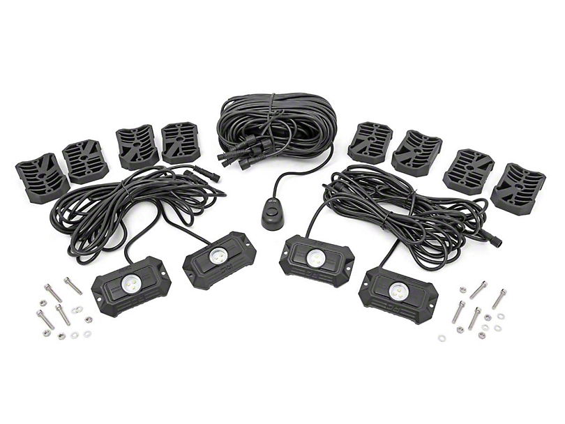 Rough Country LED Rock Light Kit (Universal Fitment)