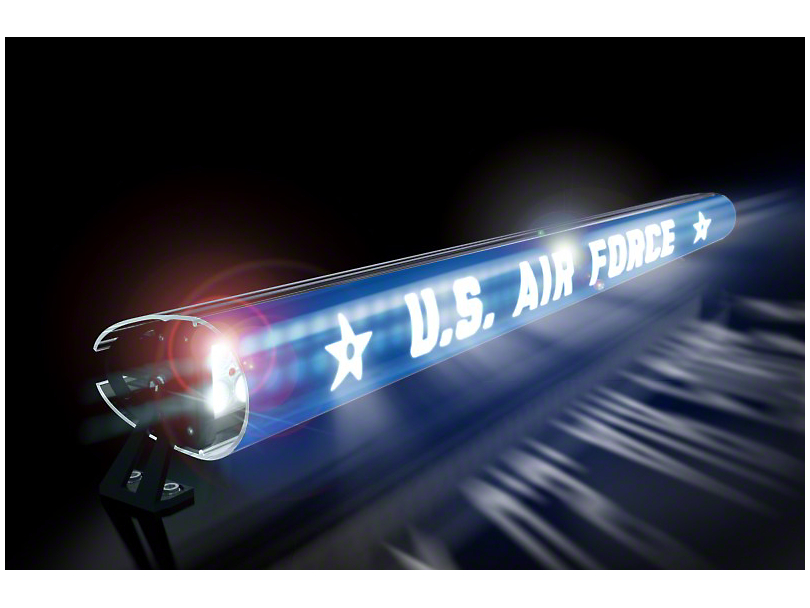 AeroX 52 in. LED Light Bar Cover Insert - U.S. Air Force