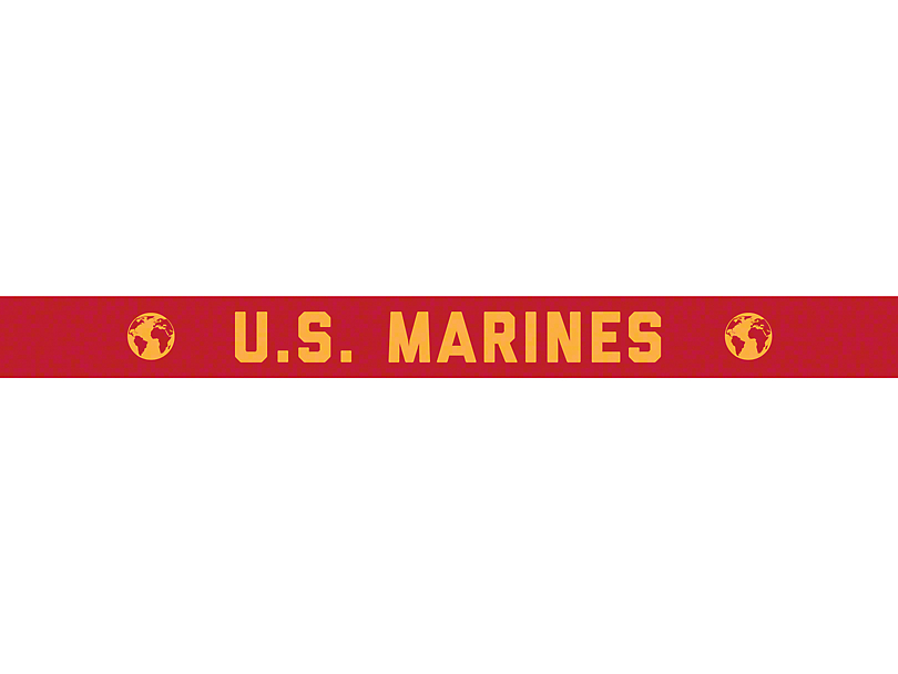 AeroX 52 in. LED Light Bar Cover Insert - U.S. Marines