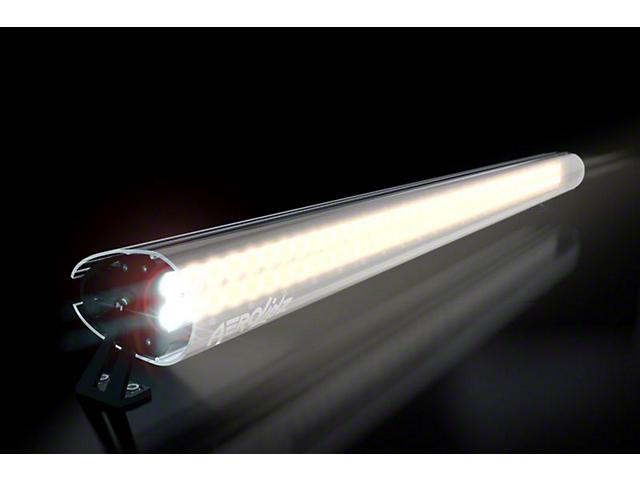AeroX 52 in. LED Light Bar Cover Transparent Insert - White