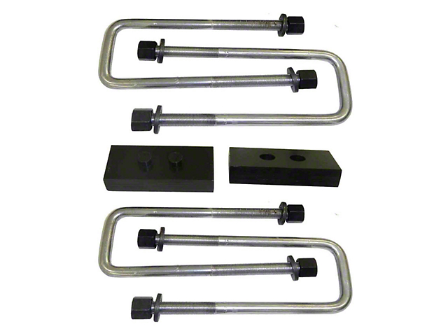 Suspension Maxx 1-Inch Heavy Duty Rear Lift Block Kit (04-13 4WD F-150, Excluding Raptor)
