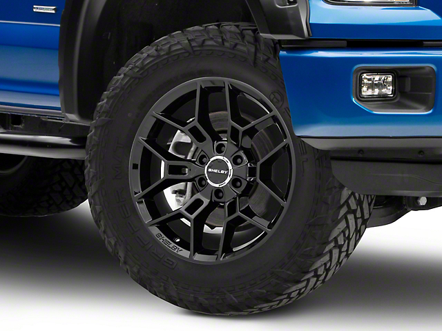 Shelby CS45 Gloss Black 6-Lug Wheel - 20x9; 12mm Offset (15-19 F-150)