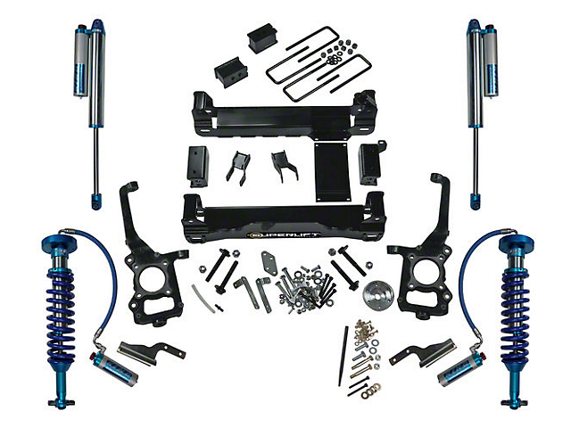 SuperLift 6 in. King Edition Suspension Lift Kit (15-20 4WD F-150 SuperCab, SuperCrew, Excluding Raptor)