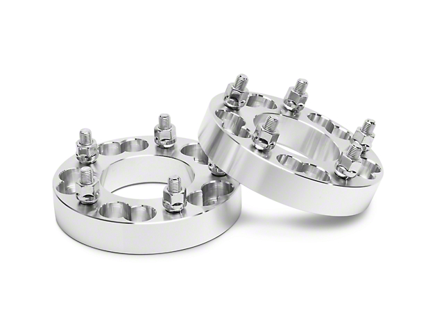 Coyote 1.25 in. Billet Aluminum Hubcentric 5-Lug Wheel Spacers (97-03 F-150)