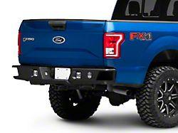 Deegan 38 Rear Bumper with KC HiLiTES LED Fog Lights (15-20 F-150, Excluding Raptor)