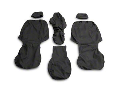 Husky Heavy Duty Front Row Seat Cover - Charcoal (15-19 F-150 w/ Bench Seat)