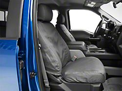 Husky Heavy Duty Front Row Seat Cover - Charcoal (15-19 F-150 w/ Bucket Seats)
