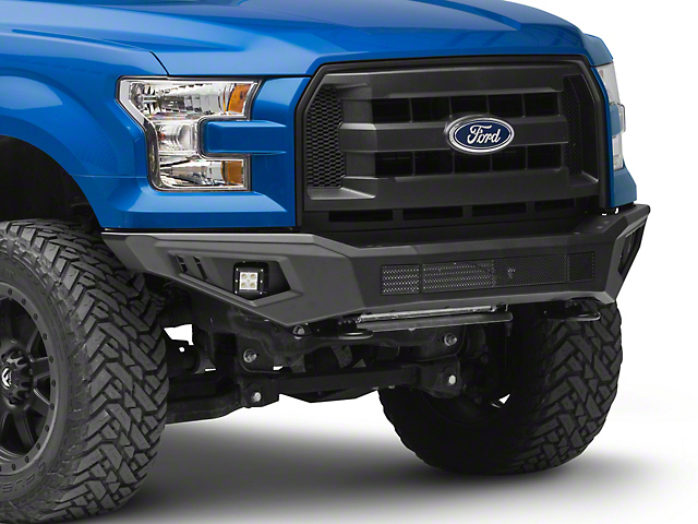 Barricade HD Off-Road Front Bumper with LED Fog Lights (15-17 F-150, Excluding Raptor)