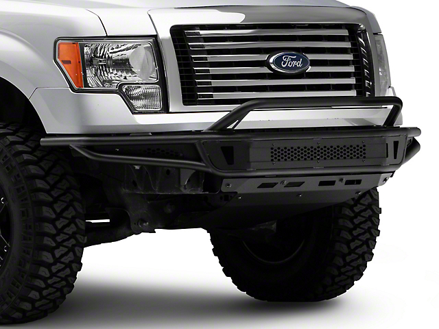Barricade Pre-Runner Front Bumper with Skid Plate (09-14 F-150, Excluding Raptor)