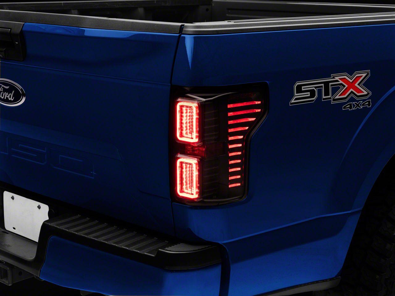 Morimoto XB LED Tail Lights - Smoked (18-19 F-150 w/o BLIS)