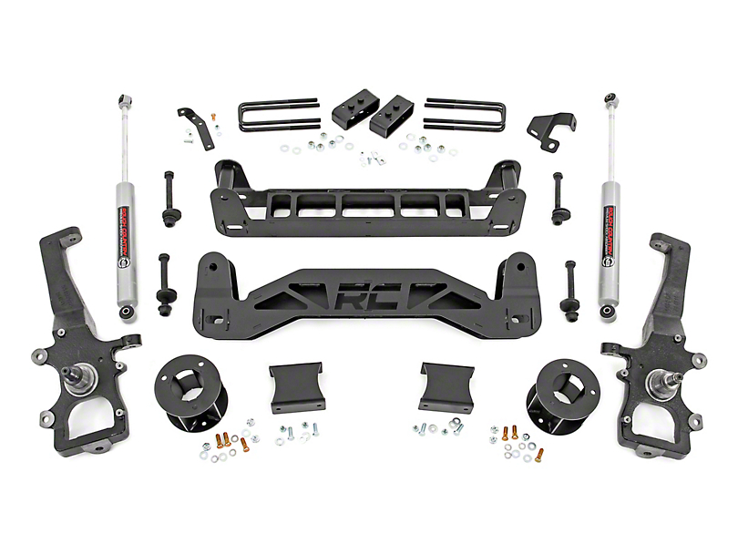 Rough Country 4 in. Suspension Lift Kit (04-08 2WD F-150)