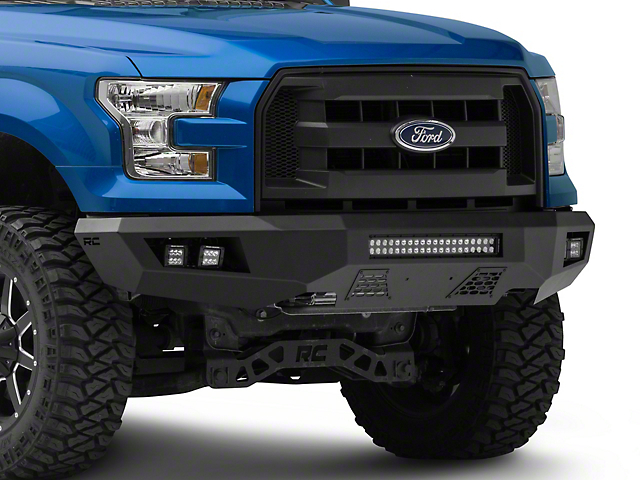 Rough Country Heavy-Duty Front LED Bumper (15-17 F-150, Excluding Raptor)