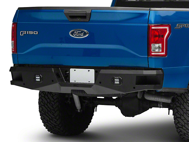 Rough Country Heavy Duty LED Rear Bumper (15-20 F-150, Excluding Raptor)