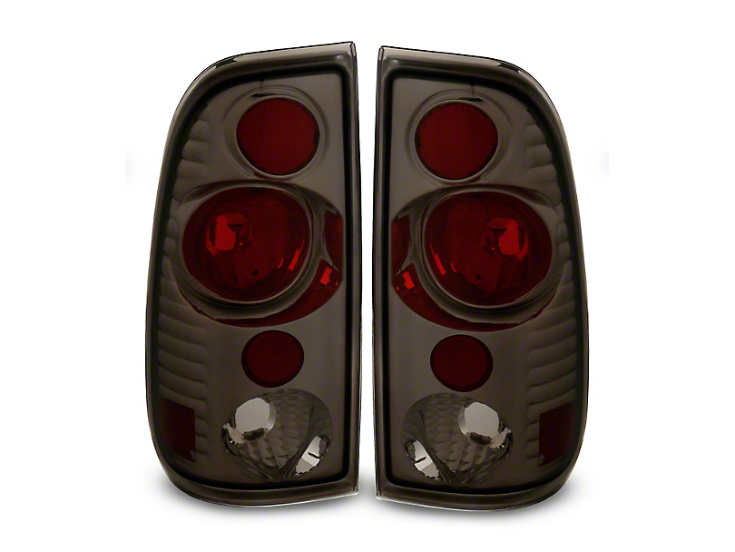 Version 2 Tail Lights; Smoked (97-03 F-150 Styleside)