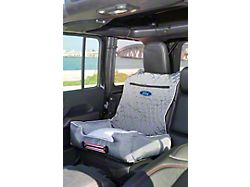 PetBed2Go with Ford Logo; Gray (Universal; Some Adaptation May Be Required)