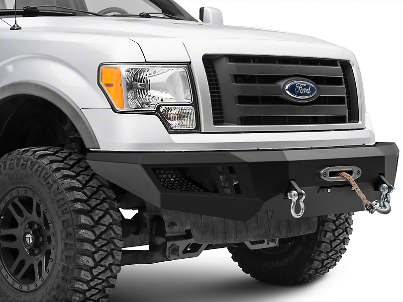 Barricade Extreme HD Front Bumper w/ Winch Mount (09-14 F-150, Excluding EcoBoost & Raptor)