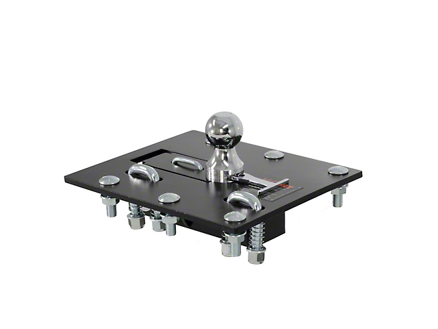 Over-Bed Folding Ball Gooseneck Trailer Hitch (11-16 F-250 Super Duty)