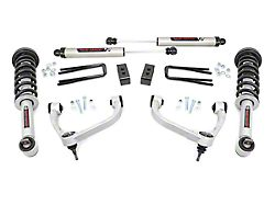 Rough Country 3-Inch Bolt-On Arm Suspension Lift Kit with V2 Monotube Shocks (14-20 4WD F-150 SuperCab, SuperCrew, Excluding Raptor)
