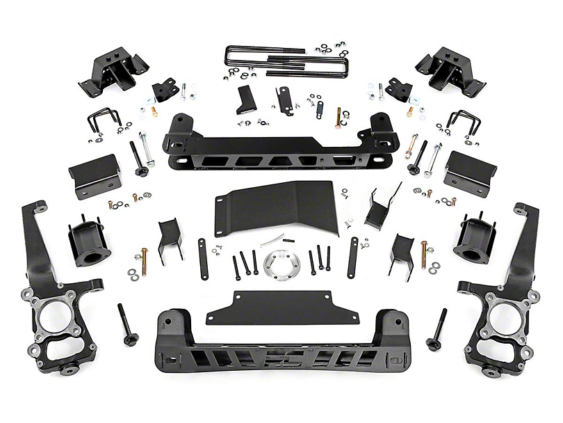 Rough Country 4.5 in. Suspension Lift Kit (10-14 F-150 Raptor)