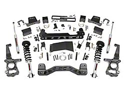 Rough Country 6-Inch Suspension Lift Kit with Lifted Struts and Premium N3 Shocks (15-20 4WD F-150 SuperCab, SuperCrew, Excluding Raptor)