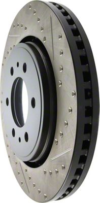 StopTech 227.65119L Select Sport Drilled and Slotted Rotor Right