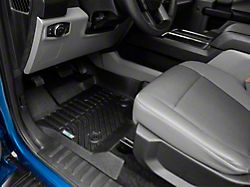 Proven Ground Trushield Precision Molded Front and Rear Floor Liners; Black (15-22 F-150 SuperCrew)