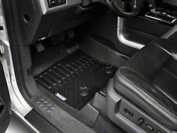 Proven Ground Trushield Precision Molded Front and Rear Floor Liners; Black (09-14 F-150 SuperCrew)