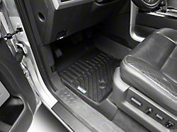 Proven Ground TruShield Precision Molded Front Floor Liners; Black (09-14 F-150)