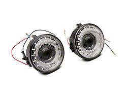 Halo Projector Fog Lights with Switch; Clear (06-10 F-150, Excluding Raptor)