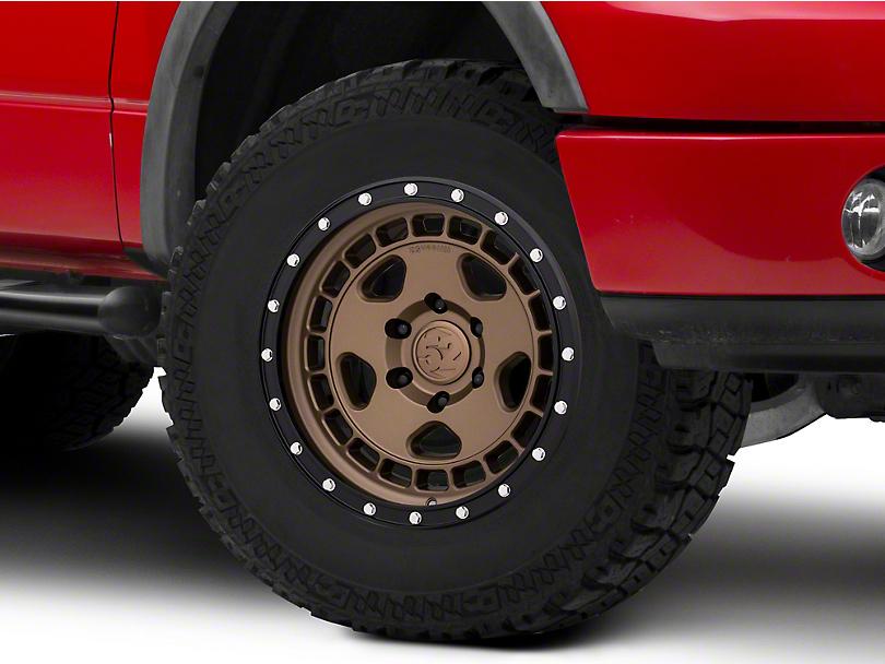 Fifteen52 Turbomac HD Block Bronze Wheel; 17x8.5 (18-20 Jeep Wrangler JL)