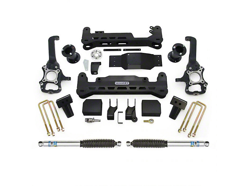 ReadyLIFT 7-Inch Suspension Lift Kit with Bilstein 5125 Shocks (15-20 4WD F-150, Excluding Raptor)