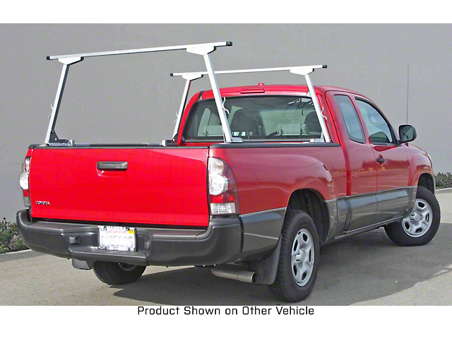 US Rack Paddler Truck Rack; Brushed and Silver (07-21 Tundra)