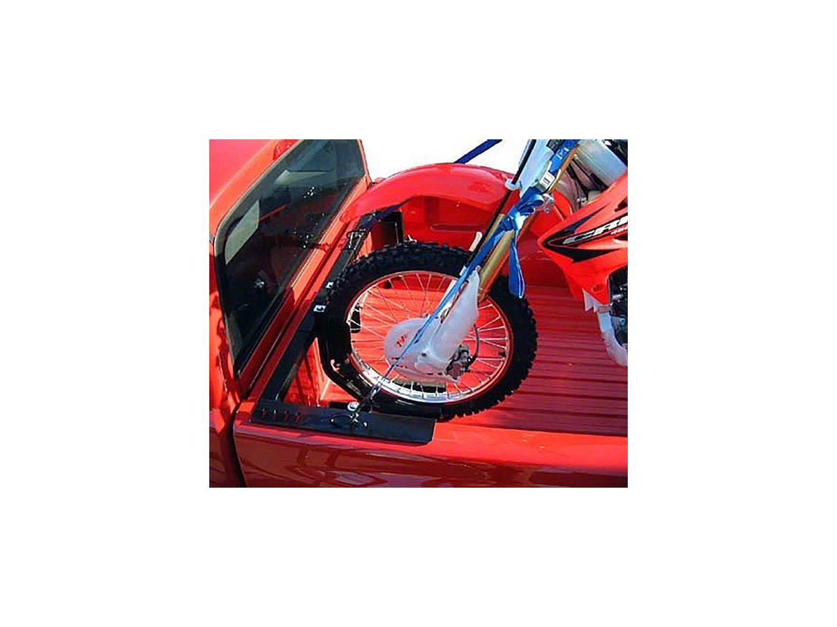 us rack motorcycle grip truck rack 3 wheel chocks black 05 21 tacoma