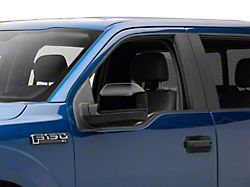 Mirror Covers; Black (15-20 F-150 w/o Towing Mirrors)