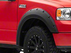 RedRock 4x4 Pocket Style Fender Flares; Textured Black (04-08 F-150 Styleside)