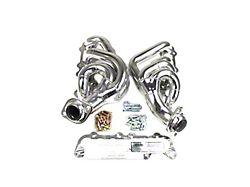 JBA 1-3/4-Inch Shorty Headers; Silver Ceramic (15-20 5.0L F-150)
