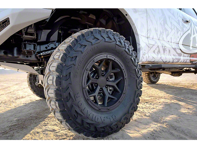 Addictive Desert Designs Stealth Fighter Matte Black 6-Lug Wheel; 17x8.5; 0mm Offset (15-20 F-150)